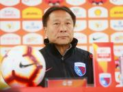 沈祥福:球队要打出精神气力争三分;阿兰是否上场仍未决定