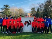 中国男足U13优秀球员队赴法交流,近距离感受先进青训理念