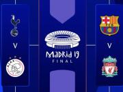 欧冠四强出炉:巴萨vs利物浦,阿贾克斯vs热刺