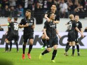 法兰克福2-0本菲卡,总比分4-4以客场进球优势晋级战切尔西