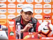 王宝山:输球责任在我,希望大家给予球员更多支持和信心
