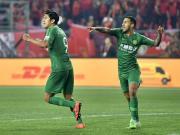 国安客场1-0河北取六连胜平中超最佳开局纪录,张玉宁制胜球