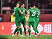 客胜河北,国安追平中国顶级联赛开局连胜纪录
