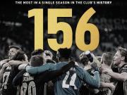 单赛季打进156球,阿贾克斯创造俱乐部新纪录