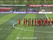 开门红,中南珂缔缘杯中国U14集训队3球胜泰国球队