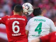 蒂亚戈达成德甲百胜,仅用122场比赛