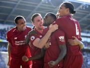 利物浦2-0客勝,多賽1場登榜首,威納爾杜姆建功,米爾納點射