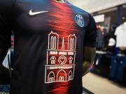 抢手,1000件PSG巴黎圣母院特别球衣在30分钟内售罄