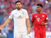 如果战胜拜仁,皮萨罗将会第9次参加德国杯决赛成历史第一人