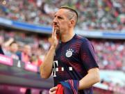 里贝里因肌肉伤势缺席训练,无缘德国杯半决赛对阵不莱梅