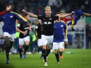 创造历史,RB莱比锡首次进入德国