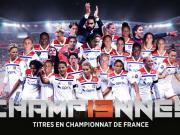 太残暴了,里昂女足豪取法甲13连冠,巴黎女足获亚军
