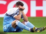 蓝鹰队医:米林科维奇扭伤了脚踝和右膝,但情况相对乐观