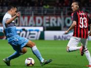 米兰0-1拉齐奥无缘意杯决赛,科雷亚破门,卡拉布里亚伤退