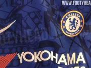 切尔西下赛季主场球衣曝光:表面印有全新的图形