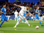 皇马0-0客平赫塔费,本泽马失单刀,纳瓦斯献精彩两连扑