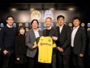 借鲁尔区德比的契机,上海足协回访多特俱乐部