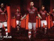 彪马发布AC米兰新赛季的主场球衣,经典设计回归