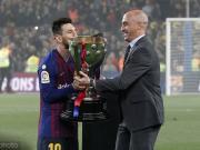 又吵起來了,西班牙足協指責西甲電視臺未直播頒獎典禮