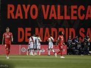 皇馬0-1巴列卡諾連續四場客場不勝,貝爾失良機,巴列霍送點