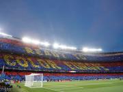 本賽季新高,有98299名觀眾前來諾坎普觀戰巴薩vs利物浦