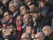 心系老東家,瓜帥現身諾坎普觀看歐冠半決賽第一回合比賽