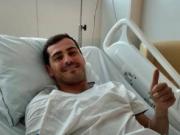 卡西在醫院報平安:有點嚇人,不過現在一切都好,謝謝關心