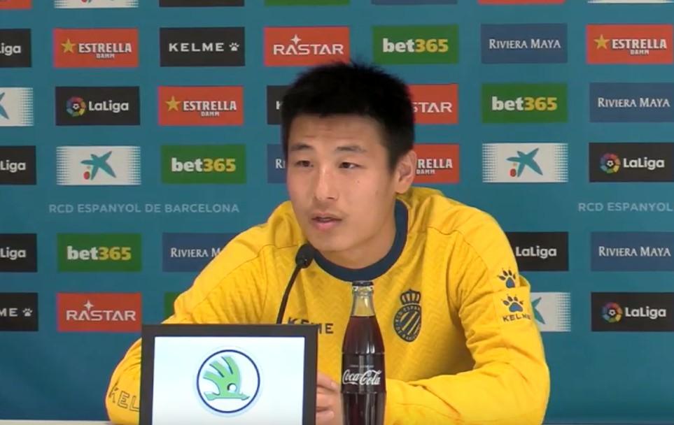 武磊:不会考虑去其他球队;队友说的西语基本