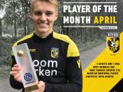 官方:厄德高当选荷甲联赛上月最佳球员