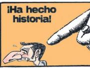 世体今日漫画:巴尔韦德拿走了梅西的两座欧冠