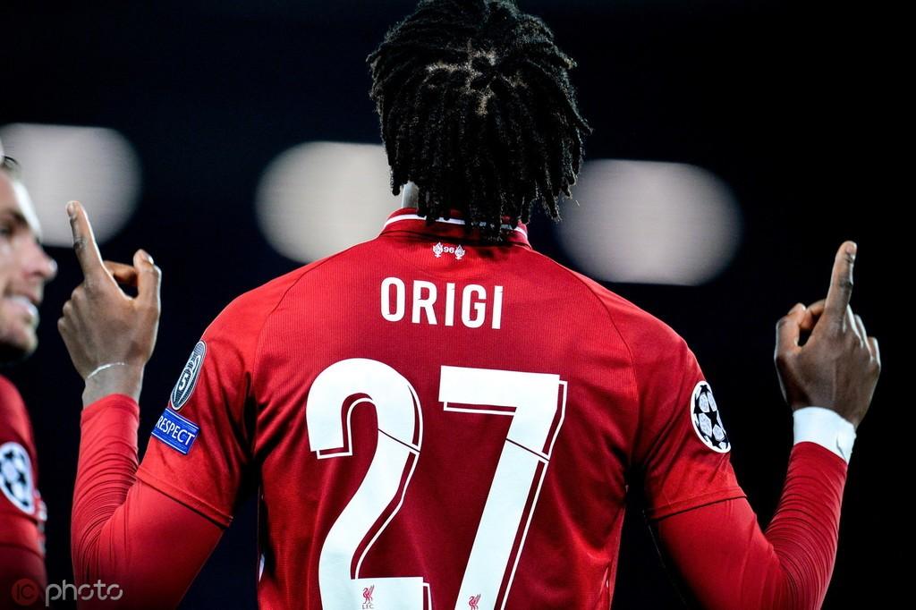 镜报:利物浦准备给奥里吉提供新合同