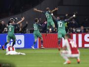 近20年首次,有球隊在歐冠半決賽先丟兩球最終完成逆轉