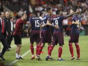 阿森纳4-2瓦伦西亚,总比分7-3晋级决赛,奥巴梅