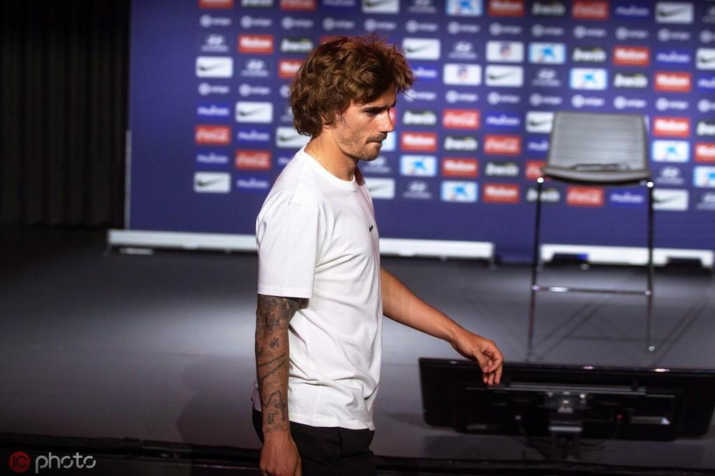 每体:巴塞罗那将在几小时内正式宣布签下格列兹曼