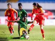 中國女足U19三球勝南非,兩勝一平獲國際青年女足錦標賽冠軍