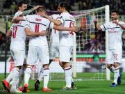 米兰1-0客胜佛罗伦萨暂时落后第四1分,恰尔汗奥