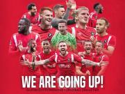 队史首次,曼联92班旗下球队索尔福德城升上职业联赛