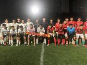 懂球帝FC 8-0大胜河传影视,紧张告别战大演帽子戏法