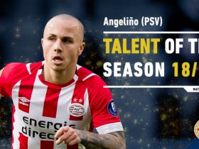 荷甲联赛赛季最佳新秀:埃因霍温后卫安赫利尼奥