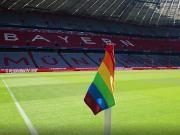 官方:为反对歧视同性恋,拜仁末战将把角旗换