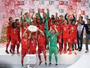 拜仁5-1大胜豪取联赛七连冠,罗贝里组合德甲告