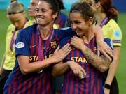 巴萨副主席:我们女足姑娘无可指责,里昂没对手