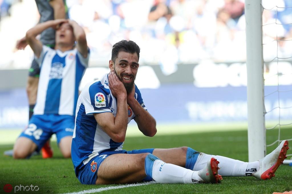 博尔哈:现在我是西班牙人的球员,这看起来不会改变