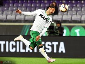 意媒:AC米兰接近以2500万欧元签下萨索洛中场森西