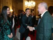 不顾争议,厄齐尔与土耳其总统埃尔多安共进晚餐