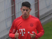 J罗周一只能独自训练,可能无缘德国杯决赛