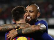 马卡报:比达尔本赛季为梅西送出6次助攻,巴萨队内最高
