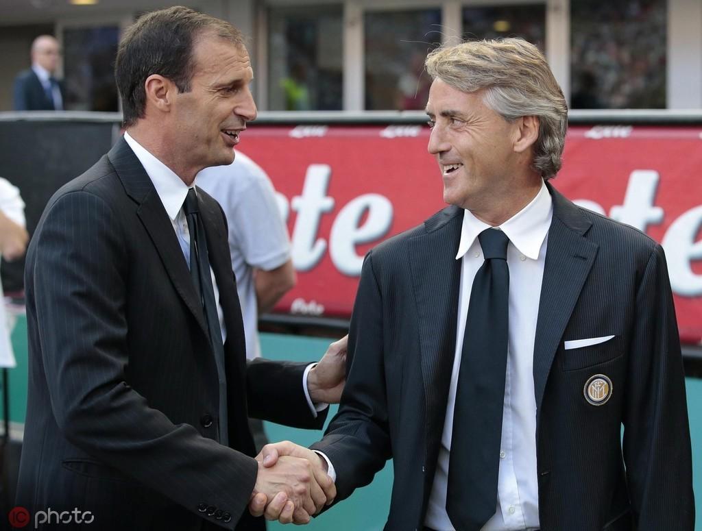 曼奇尼谈阿莱格里下课:一名主帅执教一支球队五年已经很长了