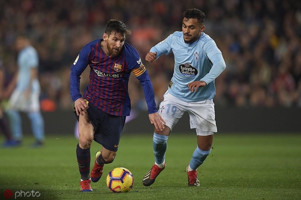本赛季西甲1v1成功过人数:梅西第二,塞尔塔中场鲍法尔第一 — 巴塞罗那