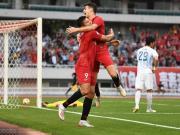 上港5-0大胜连续4年亚冠出线,淘汰赛战全北,奥斯卡戴帽
